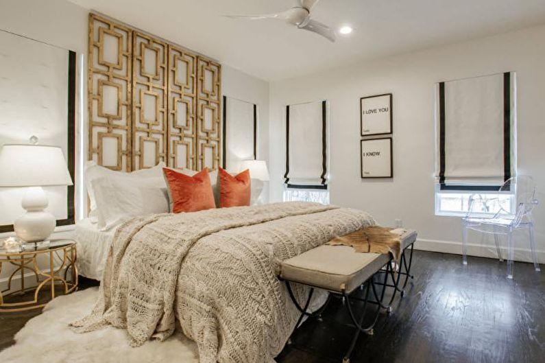 Couvre-lit avec dentelle et tricot