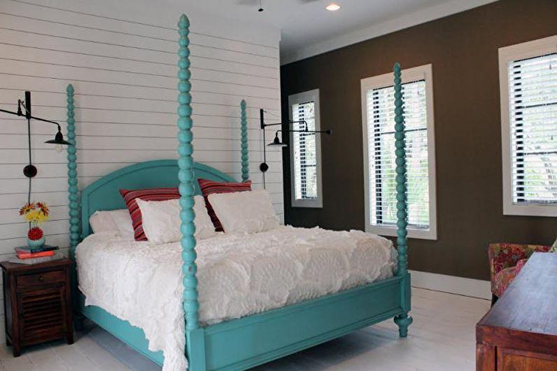 Couvre-lit à décor volumétrique