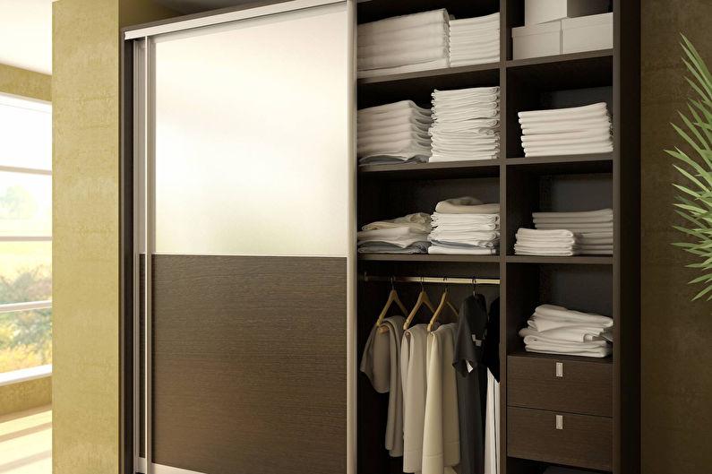 Armoires encastrées et semi-encastrées pour le couloir