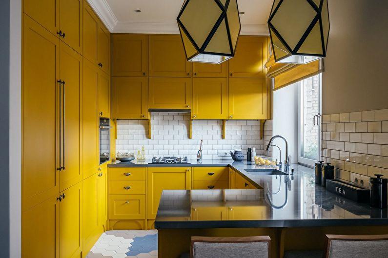 Comptoir de bar pour la cuisine, intégré au meuble