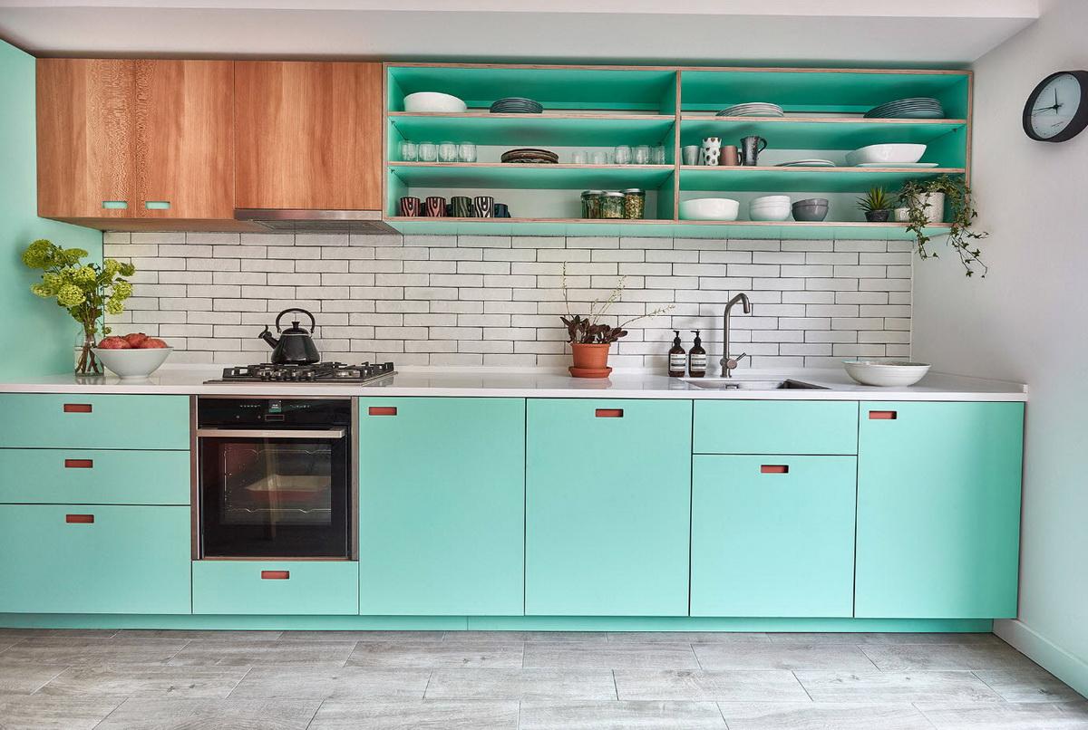 Cuisines turquoises