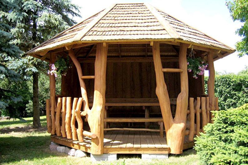 Gazebos en bois - photo