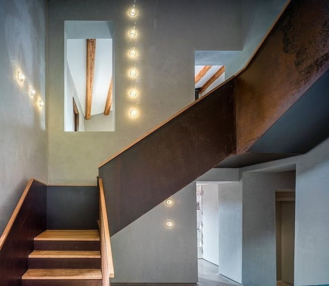 Escalier de marche