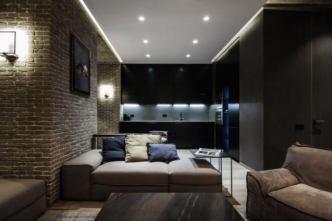 Le plafond tendu aidera à souligner le style de votre conception