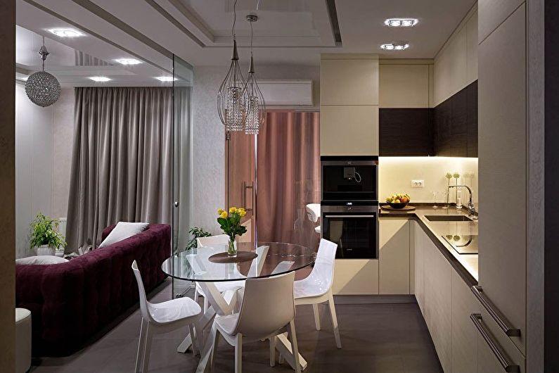 Zonage cuisine-salon - Cloisons