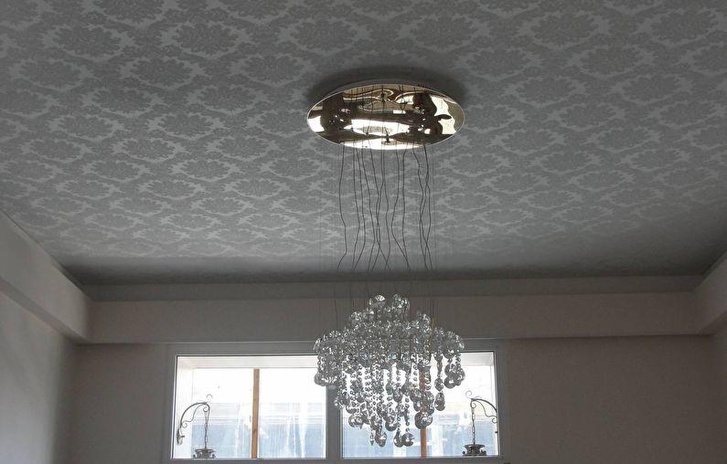 Plafond tendu en tissu