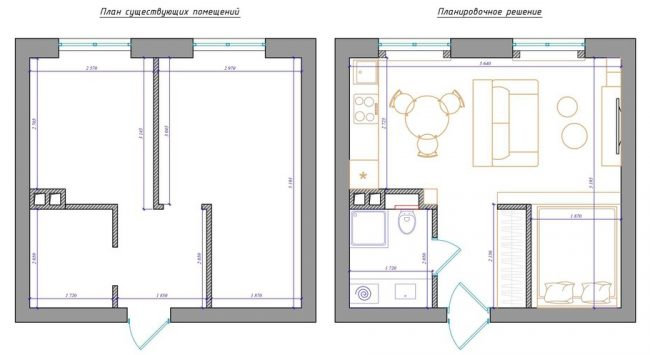 Option de réaménagement confortable
