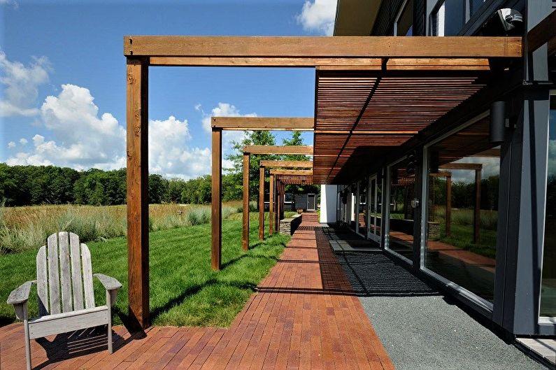 Pergola - Variétés de structures