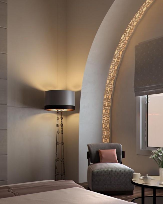 Les arches sont très caractéristiques de ce style.