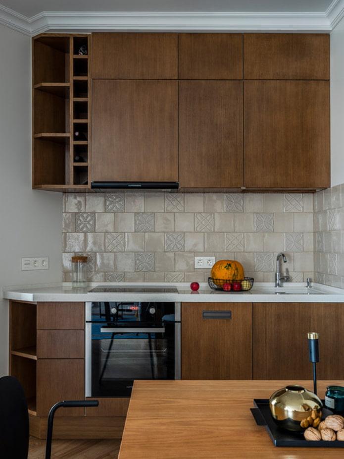petite cuisine en bois