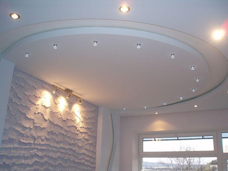 Plafond en placoplâtre