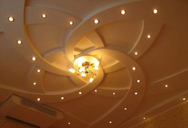 Plafonds en plaques de plâtre