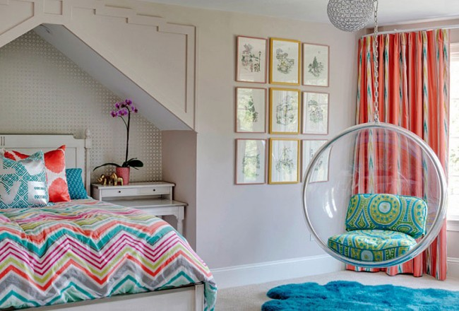 Chambre moderne pour une adolescente