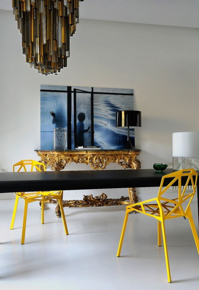 Récemment, l'intérêt pour le jaune dans la décoration intérieure a considérablement augmenté