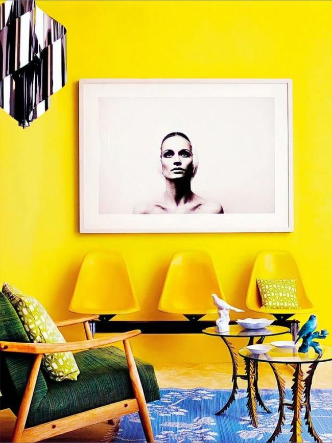 Les toutes premières émotions à la vue du jaune sont la joie.