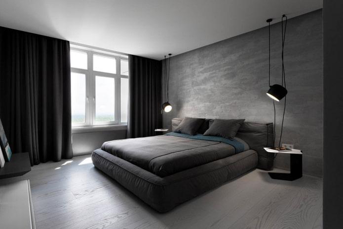construction en plaques de plâtre sur un seul niveau dans la chambre