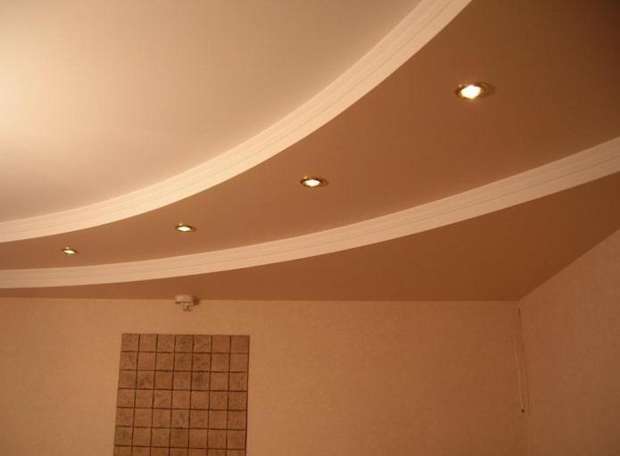 construction de plaques de plâtre à plusieurs niveaux