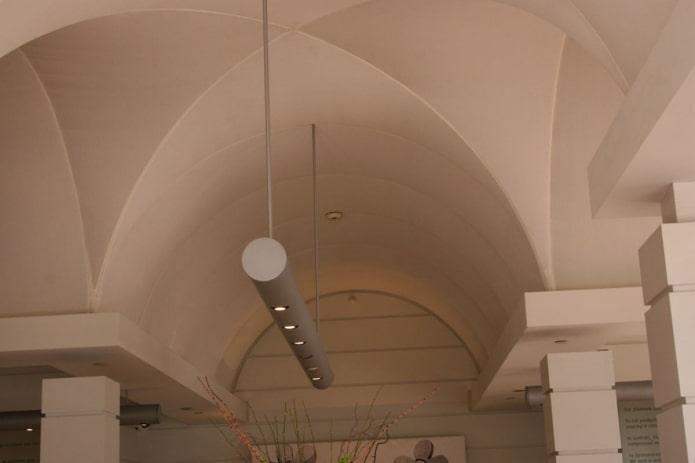 structures en plaques de plâtre cintrées