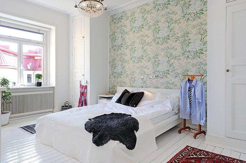 Papier peint pour la chambre de style scandinave