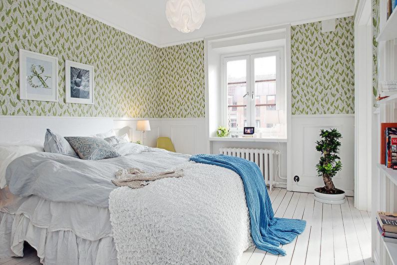 Papier peint pour la chambre dans le style provençal