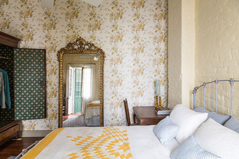Papier peint pour la chambre dans un style moderne
