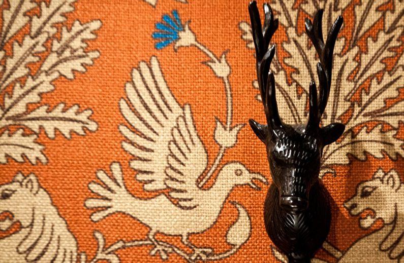Papier peint textile pour la chambre