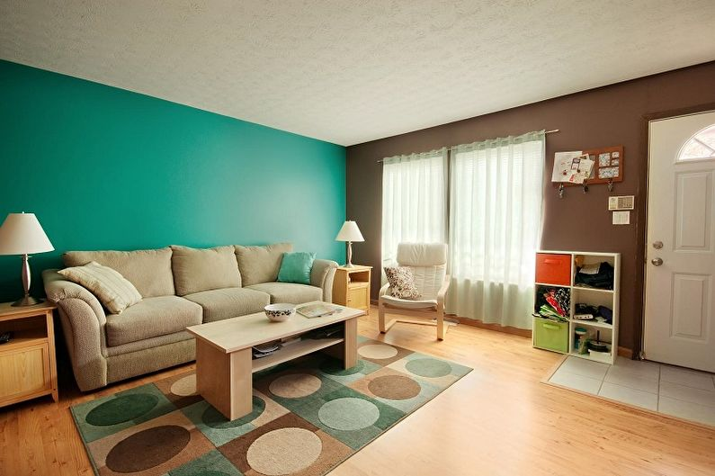 Papier peint pour la salle - Comment choisir une couleur