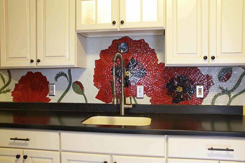 Tablier de cuisine en mosaïque
