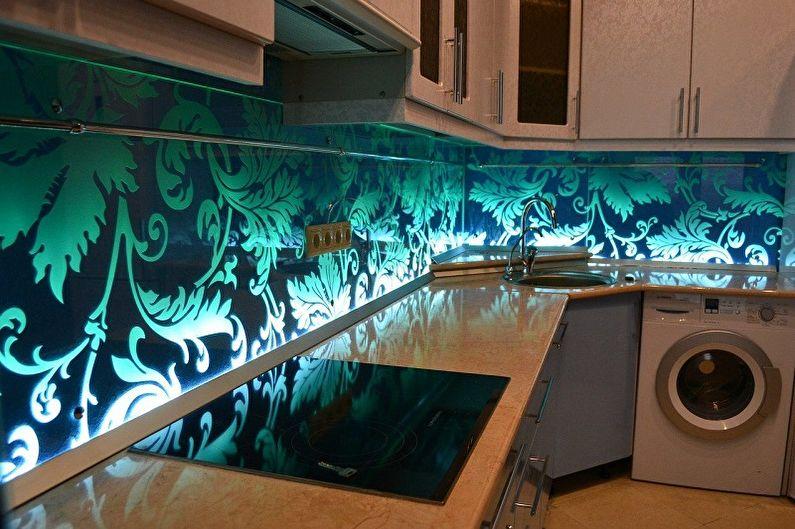 Tablier en verre pour cuisine - Plexiglas