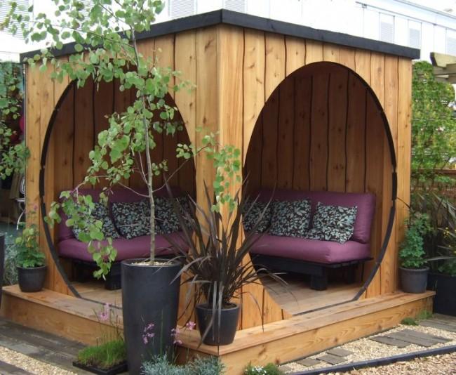 Un belvédère inhabituel et facile à construire en planches de bois