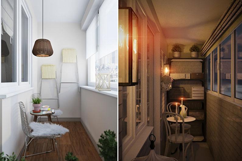 Balcon / Loggia Design - Caractéristiques