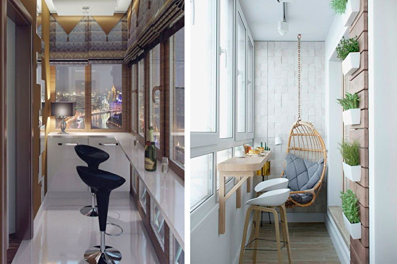 Combiner balcon et cuisine - Design d'intérieur