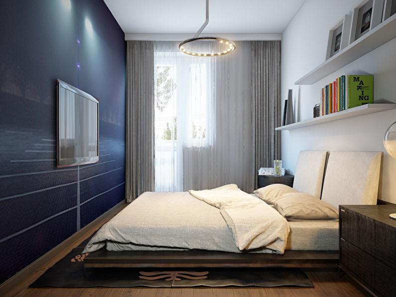 Design d'intérieur d'une chambre à Khrouchtchev - Papier peint