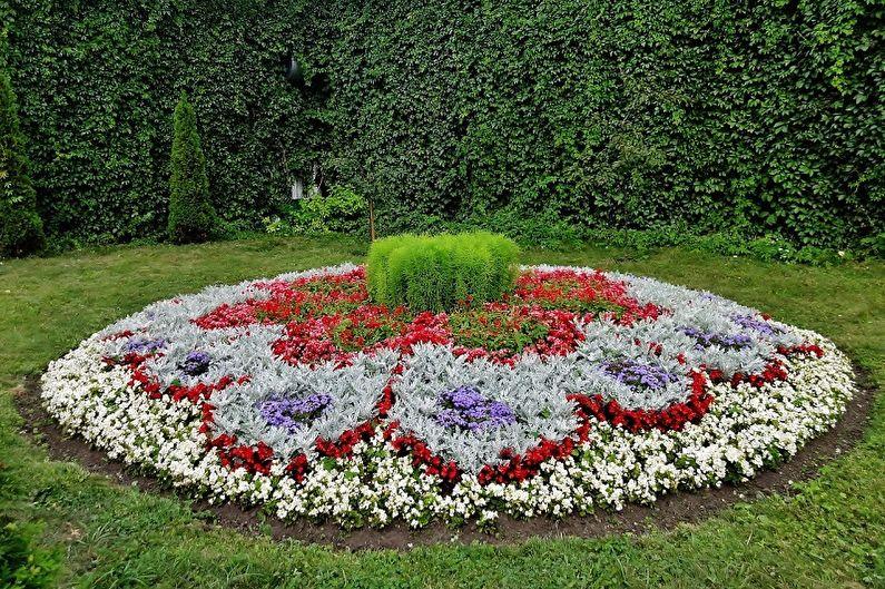 Parterre de fleurs bricolage - Règles de choix des fleurs