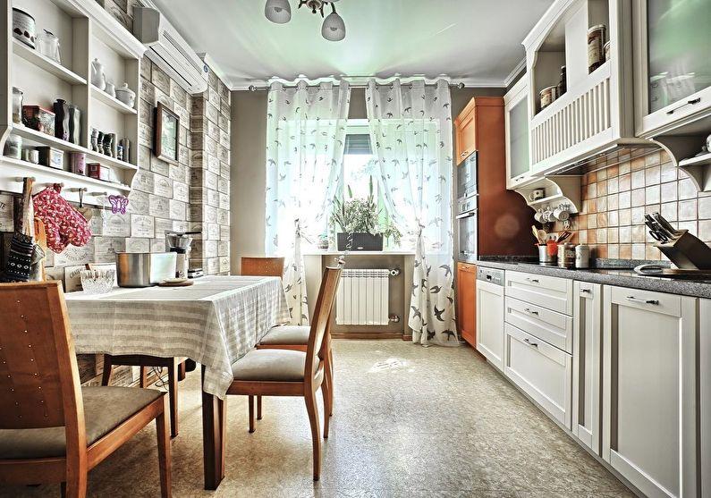 Matériaux et finitions - Conception de cuisine de style provençal