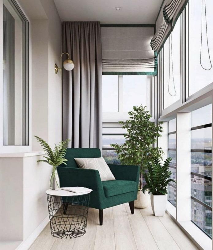 rideaux de balcon
