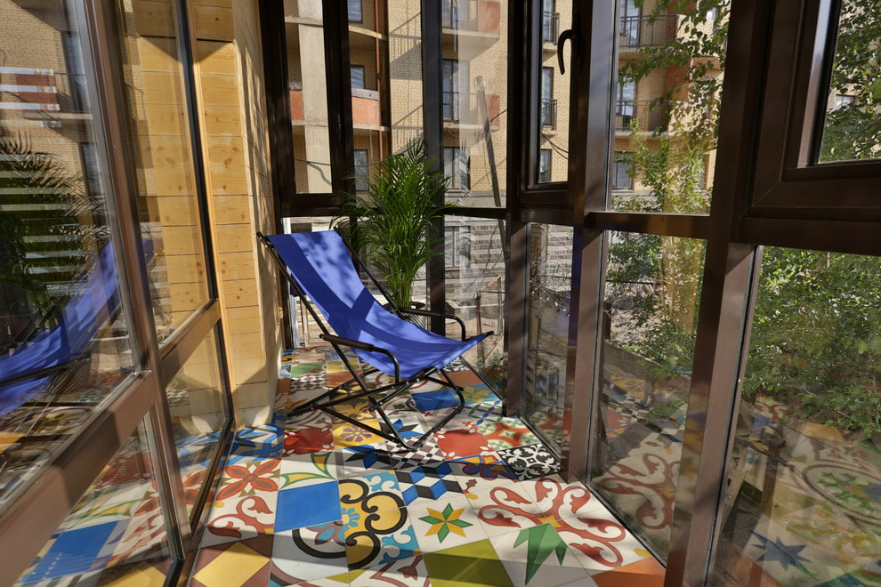 Comment choisir une tuile pour un balcon ou une loggia?