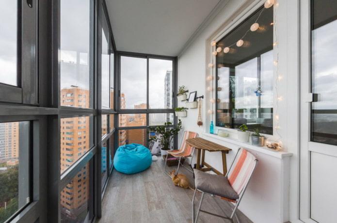 grand balcon panoramique