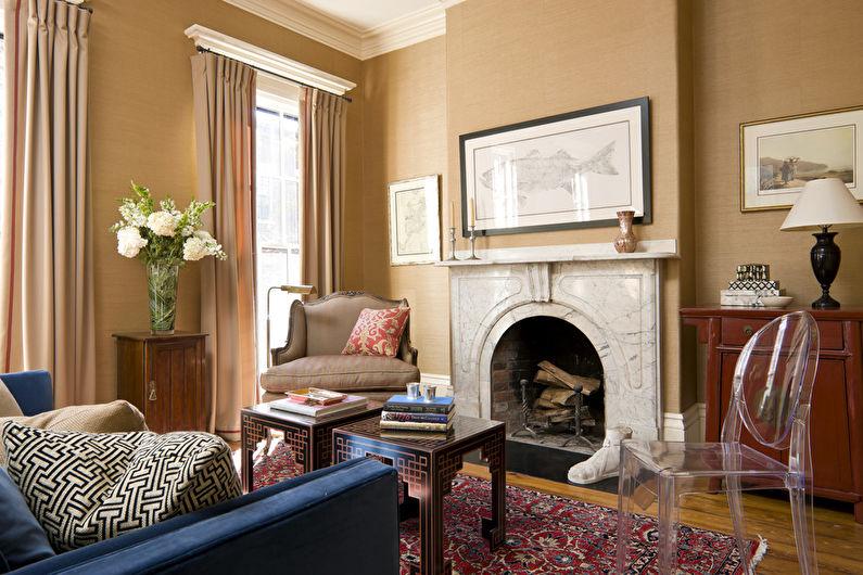 Style néoclassique à l'intérieur - Finition du sol