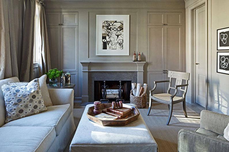 Style néoclassique à l'intérieur - Meubles