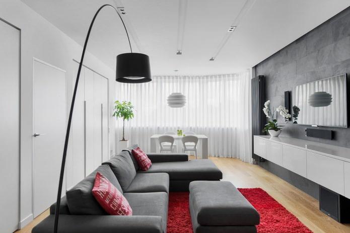 garniture de plafond blanche