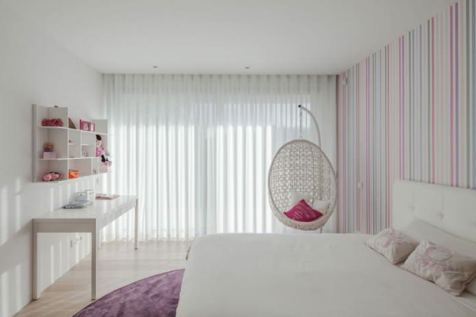 conception de chambre moderne pour une fille