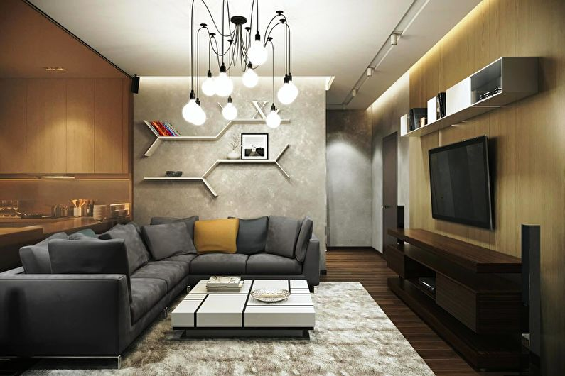 Étagères murales - Style intérieur moderne