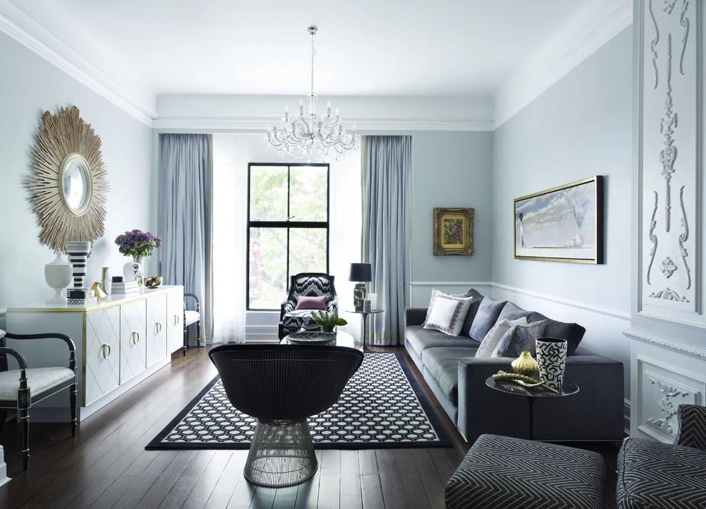 Plafond parfait lisse pour appartement néoclassique