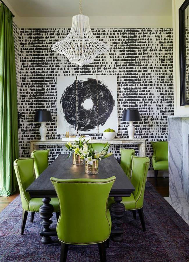 Appliquer du vert à votre pièce est un bon début pour créer le décor parfait pour la maison.
