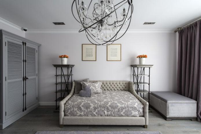 mobilier à l'intérieur dans le style néoclassique