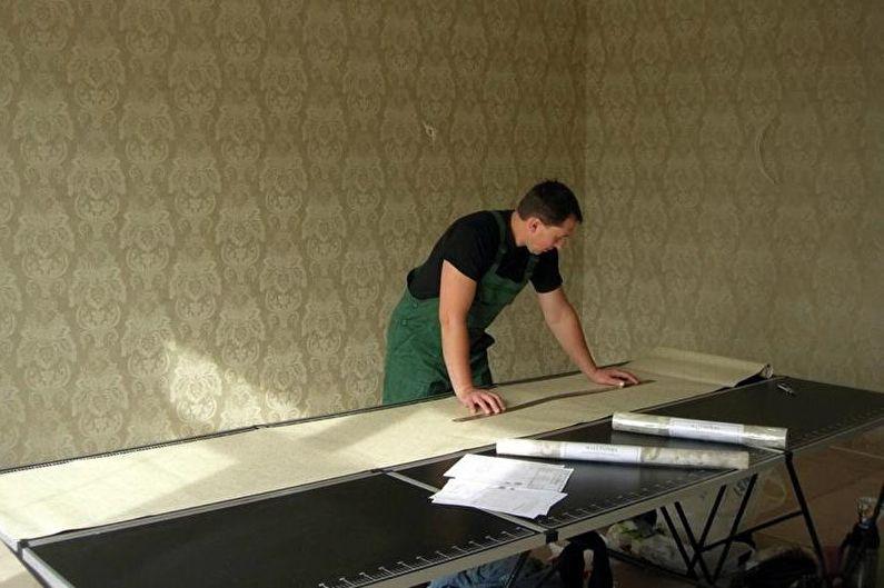 Comment coller du papier peint intissé