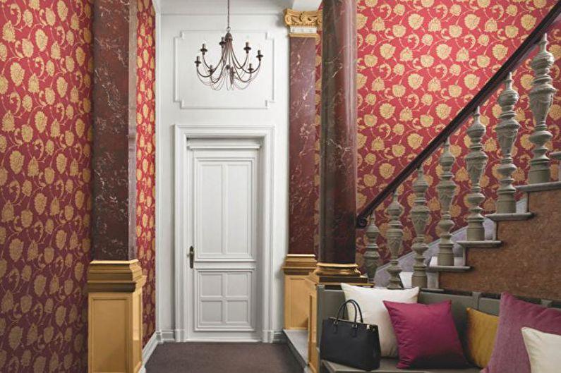 Papier peint intissé pour le couloir - photo