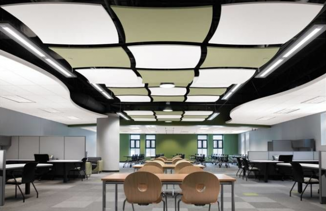 Plafond suspendu type Armstrong
