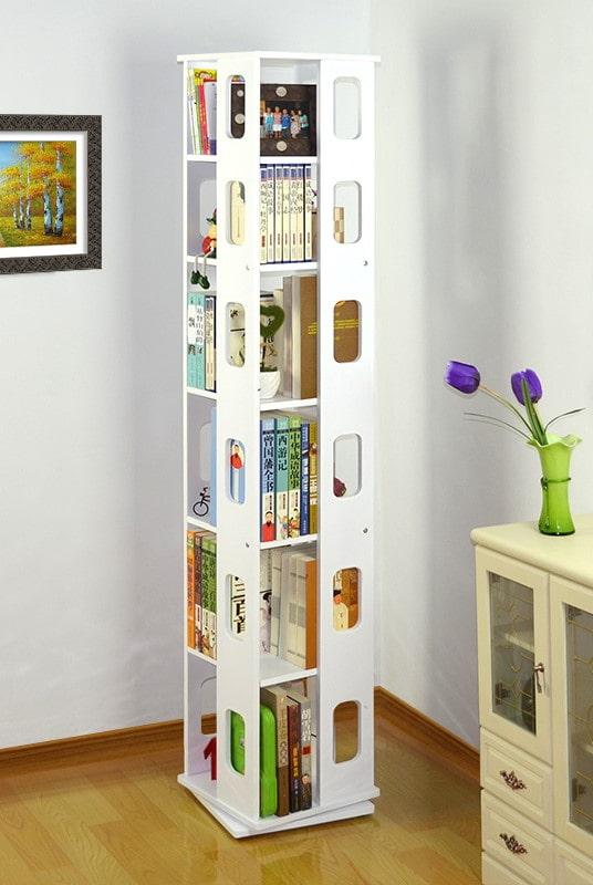étagère pour livres à l'intérieur